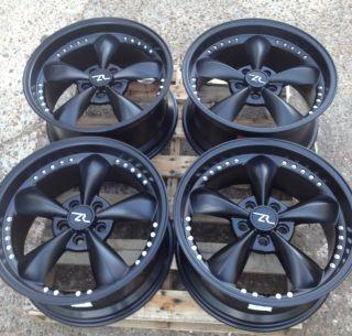 Black Mustang Bullitt Wheels 18x9   18 Deep Dish 18 INCH rims 2005