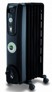 DeLonghi EW7707CB Oil Filled Portable Radiator with Comfortemp