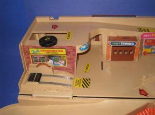 Vintage 1979 Mattel Hot Wheels Service Center Fold Up Station 51K