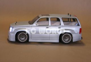 10 RC Cadillac Escalade SUV Truck Brushless RTR Brand New 40 MPH