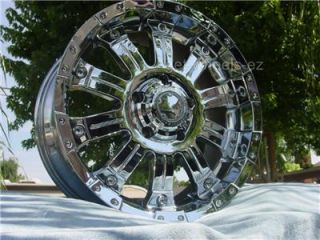 ULTRA MOTORSPORT CHROME WHEELS RIMS TOYOTA TUNDRA SEQUOIA,LEXUS LX470