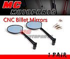 Black CNC Dynamic Style Mirrors SPEED TRIPLE 1050 STREET TRIPLE 675 R
