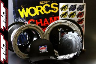 DWT Beadlocks Yamaha YFZ 450 Wheels DWT Champion in Box 10 9