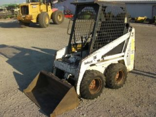 Bobcat 440 Gas Skid Steer Loader with Bucket 450