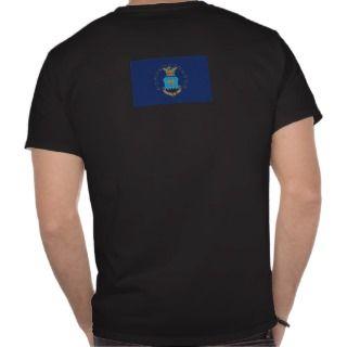 usaf Master Sergeant af flag T shirt