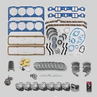 Fed Mogul Engine Rebuild Kit SBC 350 040 Bore 010 Rods 020 Mains
