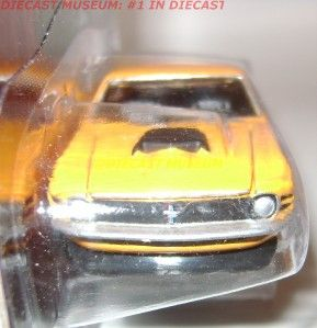 1970 70 Ford Mustang Boss 429 Whitfield JL Johnny Lightning Diecast