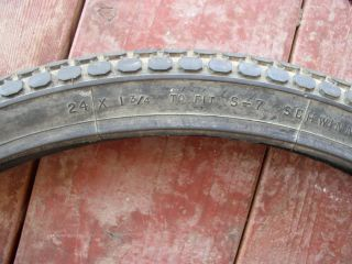 Schwinn Tractor 24 x 1 3 4 Tire for s 7 Rim Wheels