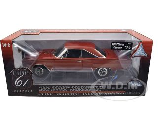 Brand new 118 scale diecast car model of 1967 Dodge Coronet R/T