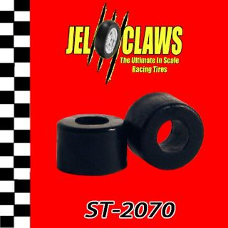 ST2070 Jel Claws Tyco 440 X2 Rear Slot Car Tires