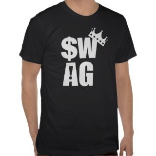 Crowned King of Swag! Tshirts
