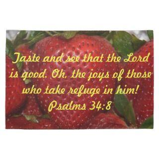 Bible Verse Kitchen Towel   Psalms 348