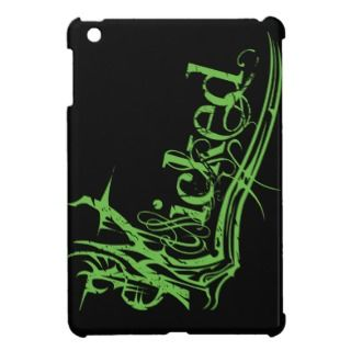 Wicked Green iPad Mini Glossy Case iPad Mini Cases