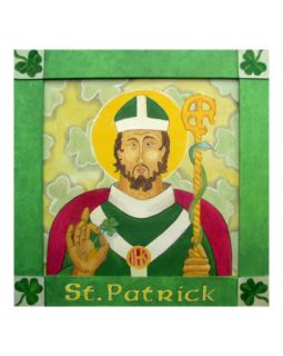 Saint Patrick Giclee Print by Paul Helm