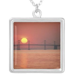 Chesapeake Bay Bridge, Maryland. Jewelry