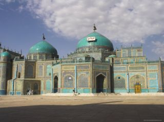 Shrine of Hazrat Ali, Who was Assassinated in 661, Mazar I Sharif, Afghanistan Photographic Print by Jane Sweeney