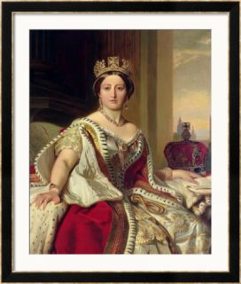 Portrait of Queen Victoria 1859 Framed Giclee Print