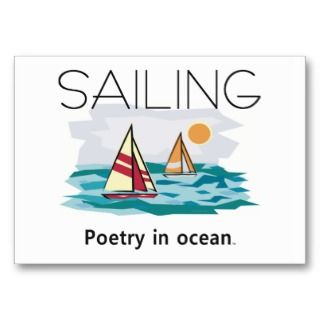 TOP Sailing, Poetry in Ocean Business Card