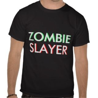 Zombie Slayer of Walking Dead Tee Shirt