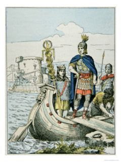 Julius Caesar Sets Out to Punish Pirates Who Held Him For Ransom Giclee Print