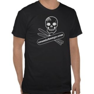 Cosmic bongo logo snowboard t shirt
