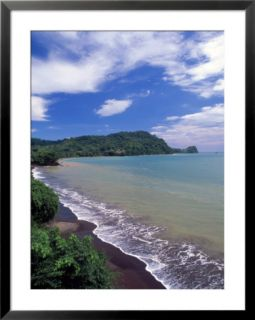 Coastal View of Jaco Beach, Costa Rica Pre made Frame