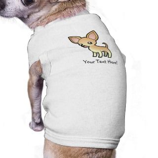 Cartoon Chihuahua (fawn smooth coat) pet clothing by SugarVsSpice