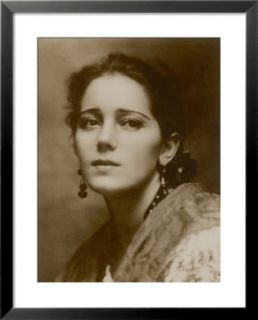 Raquel Meller Spanish Film Actress and Singer Pre made Frame