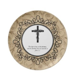 John 15 Bible Verses Decorative Plates