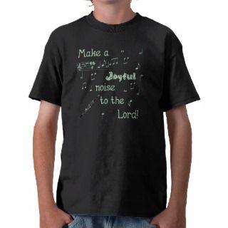 Joyful Noise Clarinet (green) T Shirt