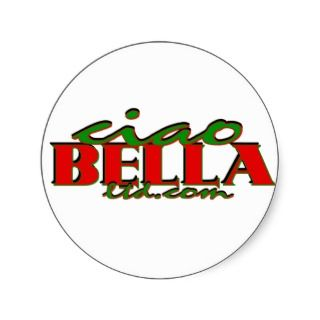 Ciao Bella Ltd. Stickers