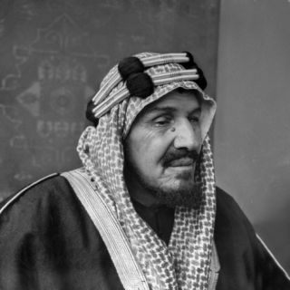King Ibn Saud of Saudi Arabia Photographic Print by Bob Landry