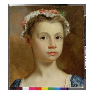 Sketch of a Young Girl, C.1730 40 (Oil on Canvas) Giclee Print by Joseph Highmore
