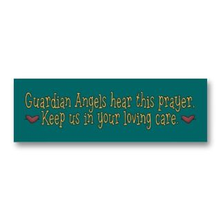 Guardian Angels Prayer Bookmark Business Card Template