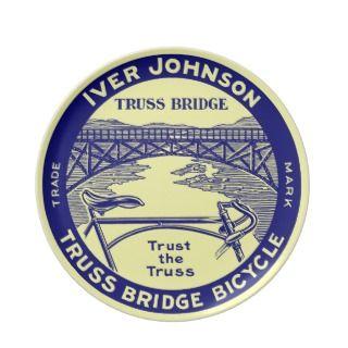 Vinage rero Iver Johnson russ Bridge bicycle Pary Plaes