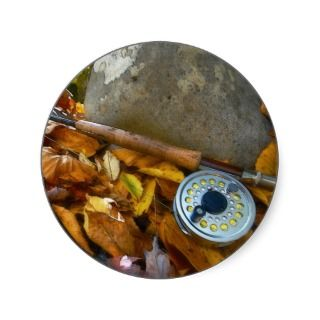 Fall Fly Fishing Rod Stickers