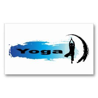 Unique Yoga Business Card Templates