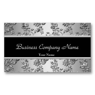embossed floral by zizzago browse more elegant business business cards