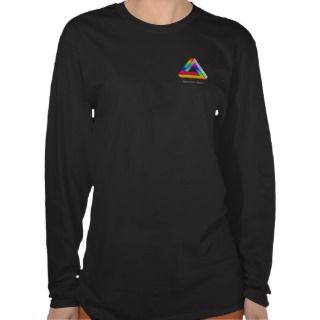 Optical Illusion   Impossible Triangle T shirts