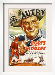 Boots and Saddles, Gene Autry, 1937 Pre made Frame