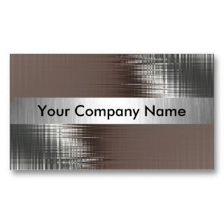 Metal  Business Cards With Class