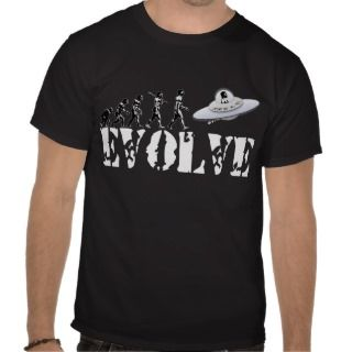 Alien UFO ET Area 51 Evolution Tee Shirt