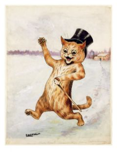 Top Cat! Giclee Print by Louis Wain