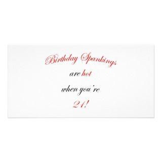 21st Birthday Photo Cards, 21st Birthday Photo Card Templates
