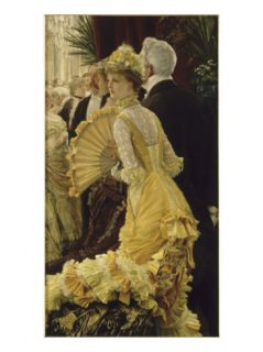 Le bal Giclee Print by James Tissot