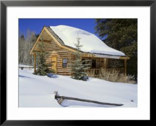 Log Cabin Colorado, USA Pre made Frame