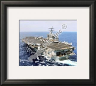 USS Harry S. Truman (CVN 75) United States Navy Framed Photographic Print