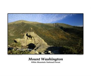 The Eastern Slopes of Mount Washington. Located in the White Mountains of New Hampshire Photographic Print by Erin Paul Donovan