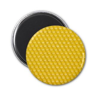 Honeycomb Template For Bees To Work On Magnet