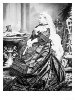 Queen Victoria of England Giclee Print by James Lafayette
